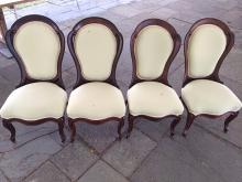 Set of 4 J.H. Belter Chairs