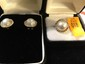 Estate 14kt Gold Ladies Pearl Ring w/Matching Earrings