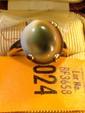 Estate Gold Ladies Tiger Eye Ring