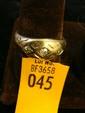 Estate 14kt Gold Men's Ring with 3 Diamonds