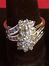 14kt Gold Diamond Ring