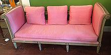 French Silk Day Bed Settee
