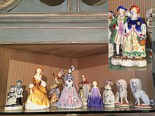 10 Porcelain Figurines
