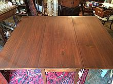 Drop Leaf Mahogany Table