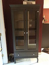 Glass Door Armoire