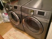 Washer and Dryer Lot