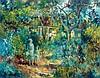 Zoma Baitler 1908 - 1994 - Figures in the Garden,