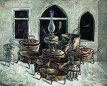 Yosl Bergner b. 1920 - Still Life