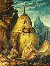 Samuel Bak b. 1933 - Pear