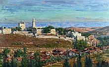 Ludwig Blum 1891 - 1975 - Jerusalem