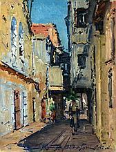Ludwig Blum 1891 - 1975 - The old City of Jerusalem