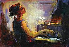 Anna Zarnitsky b. 1964 - Moments of Life