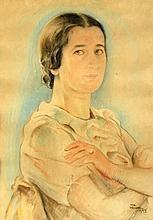 Wilhelm Wachtel 1875 - 1942 - Woman