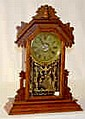 Ingraham Wood Mantel Clock,