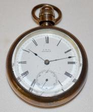 Waltham William Ellery 7-15J 18S OF LS Full Pocket Watch