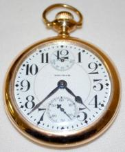 Waltham, Mass Crescent St,  21J 16S OF WI LS at the 11 RGJS Adj 5 Pos. Pocket Watch with Serial No. 20130902