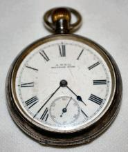 Waltham M1884 Hillside 7-15J 14S OF SW Pocket Watch