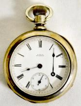 Waltham Appleton Tracy Model 1877 17J 18S OF LS Full Adjusted Pocket Watch