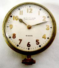 Waltham Premier 8 Day Vehicle Clock