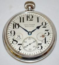 Waltham 15J 8 Day Adj Vehicle Clock
