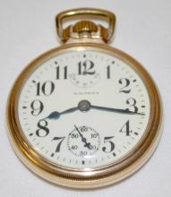 Waltham 23J Vanguard 16S OF LS Wind Indicator RGJS Pocket Watch