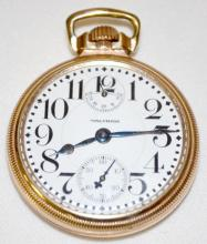 Waltham 23J Vanguard 16S of LS at 11:00 Pocket Watch