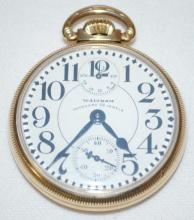 Waltham 23J Vanguard 16S OF LS Winding Indicator RGJS Pocket Watch