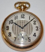 Elgin National 17J 16S OF SW DMK Pocket Watch with  Serial No. 24199427