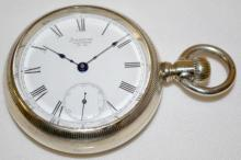 American Waltham M1883 18S OF LS Full Pocket Watch with Serial No. 5584929