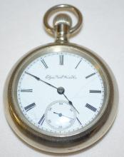 Elgin National M5 G43 Dec 1885 18S OF LS Full DMK Pocket Watch with Serial No. 2216641