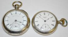 Two American Waltham Pocket Watches