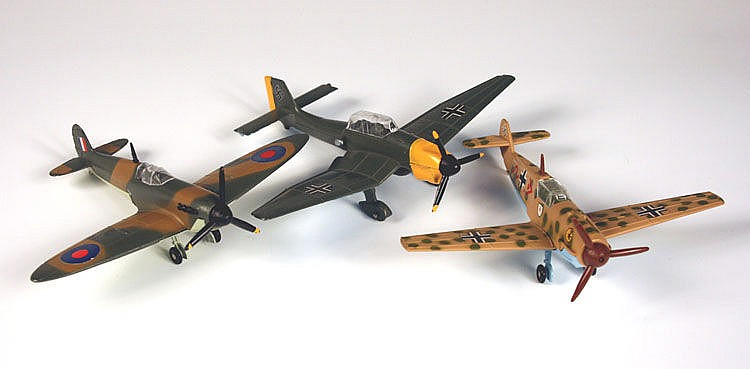 A Dinky Toys Battle of Britain No. 719 Spitfire