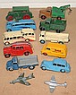 A small collection of Dinky Toys vehicles and
