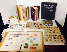 ESTATE STAMP AND CURRENCY COLLECTION, US & INTERNATIONAL