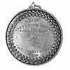 Aberdeen - A Scottish provincial farming medallion 5.2cm diameter, 24.2g