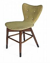 DENNIS LENNON (1918-1991) FOR SCOTTISH FURNITURE MANUFACURERS LTD. SIDE CHAIR, CIRCA 1950 175cm high