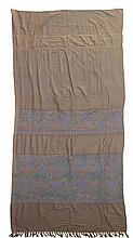 MORTON, YOUNG & BORLAND LTD. PAIR OF 'SCOTTISH MADRAS' MUSLIN CURTAINS, CIRCA 1910 each 303cm x 127cm