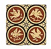 A.W.N. PUGIN (1812-1852) FOR MINTON & CO. GROUP OF TWENTY-TWO ENCAUSTIC TILES, CIRCA 1850 each 15.2cm square