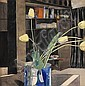 * CHARLES RENNIE MACKINTOSH (SCOTTISH 1868-1928) 'YELLOW TULIPS' 47.5 x 47cm (18¾ x 18½ in)