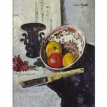 GEORGE LESLIE HUNTER (SCOTTISH 1877-1931) STILL LIFE 43cm x 53cm (17in x 21in)