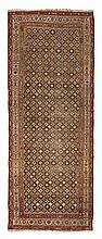 NORTHWEST PERSIAN RUNNER LATE 19TH/EARLY 20TH CENTURY 304cm x 115cm; and 375cm x 80cm