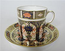 ROYAL CROWN DERBY PART COFFEE SET