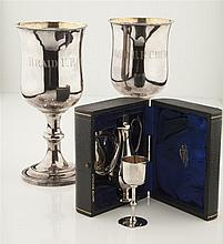 A modern travelling communion set