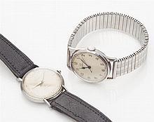 ROLEX - A gentleman's stainless steel cased wrist watch Dial diameter: 30mm