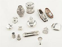 A collection of silver items Combined weight: 6.7oz