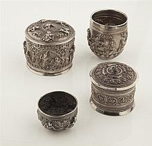 A collection of Indian silver Combined weight: 29.8oz