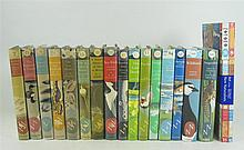 New Naturalist, 17 volumes, including