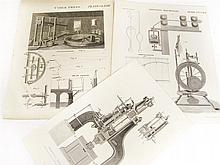 Science, technology, military and naval prints, a large collection comprising