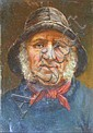 DAVID W HADDON (BRITISH FL.1884-1914 ) THE SKIPPER 34cm x 23cm (13.25in x 9in) and another three by the same hand, 'North Sea Fisher.., David W. Haddon, Click for value
