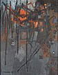 STANISLAUS RAPOTEC (AUSTRALIAN 1913-1997) TENSION NO. 30 110cm x 85cm (43.25in x 33.5in)